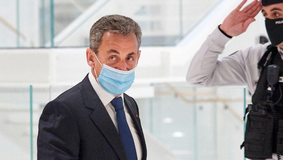 Ist nun verurteilt: Der ehemalige französische Präsident Nicolas Sarkozy