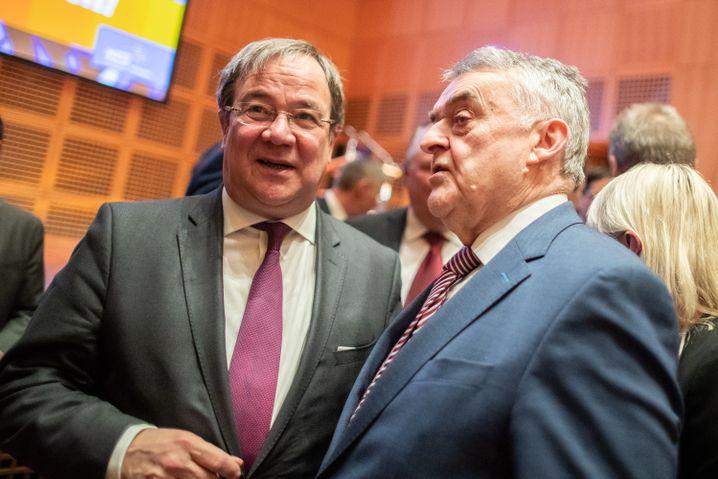 Laschet, Innenminister Reul (2019): Machtkampf um die Nachfolge
