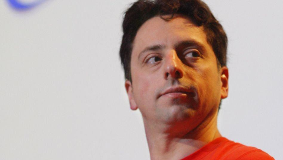 "Google co-founder and Internet billionaire Sergey Brin: ""At some point you have to stand back and challenge this."""