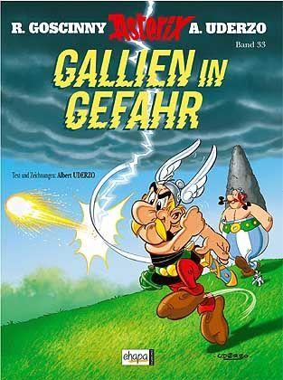 """Asterix-Band """"Gallien in Gefahr"""": Medienhype wie bei Harry Potter"""
