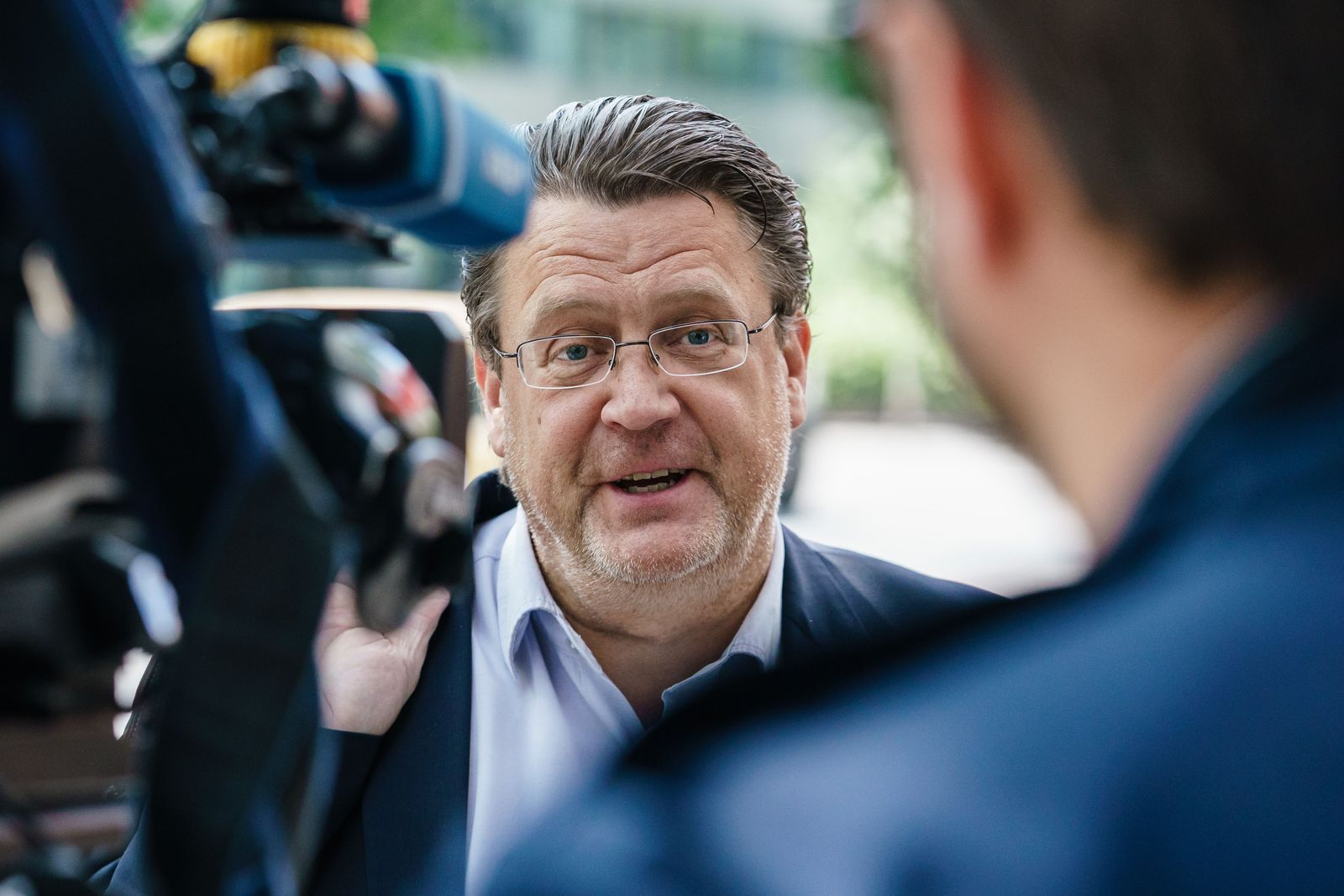 AfD chair board discusses membership of Andreas Kalbitz, Berlin, Germany - 15 May 2020