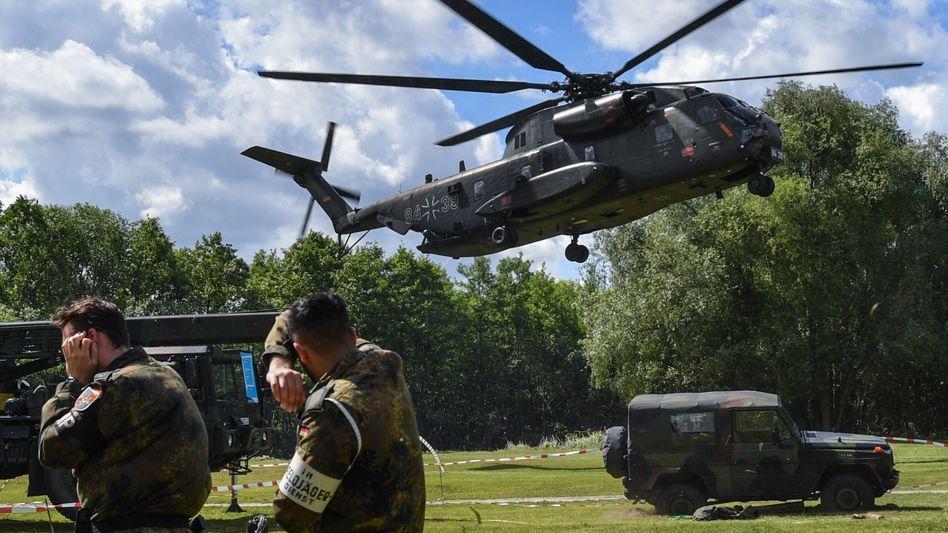 Hubschrauber der Luftwaffe der Bundeswehr