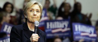 Demokratin Clinton: Phantombeschuss in Bosnien