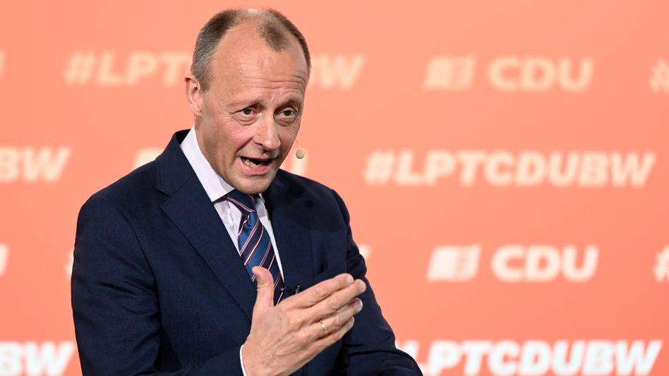 Friedrich Merz: »Steuerkraft am Ort behalten«