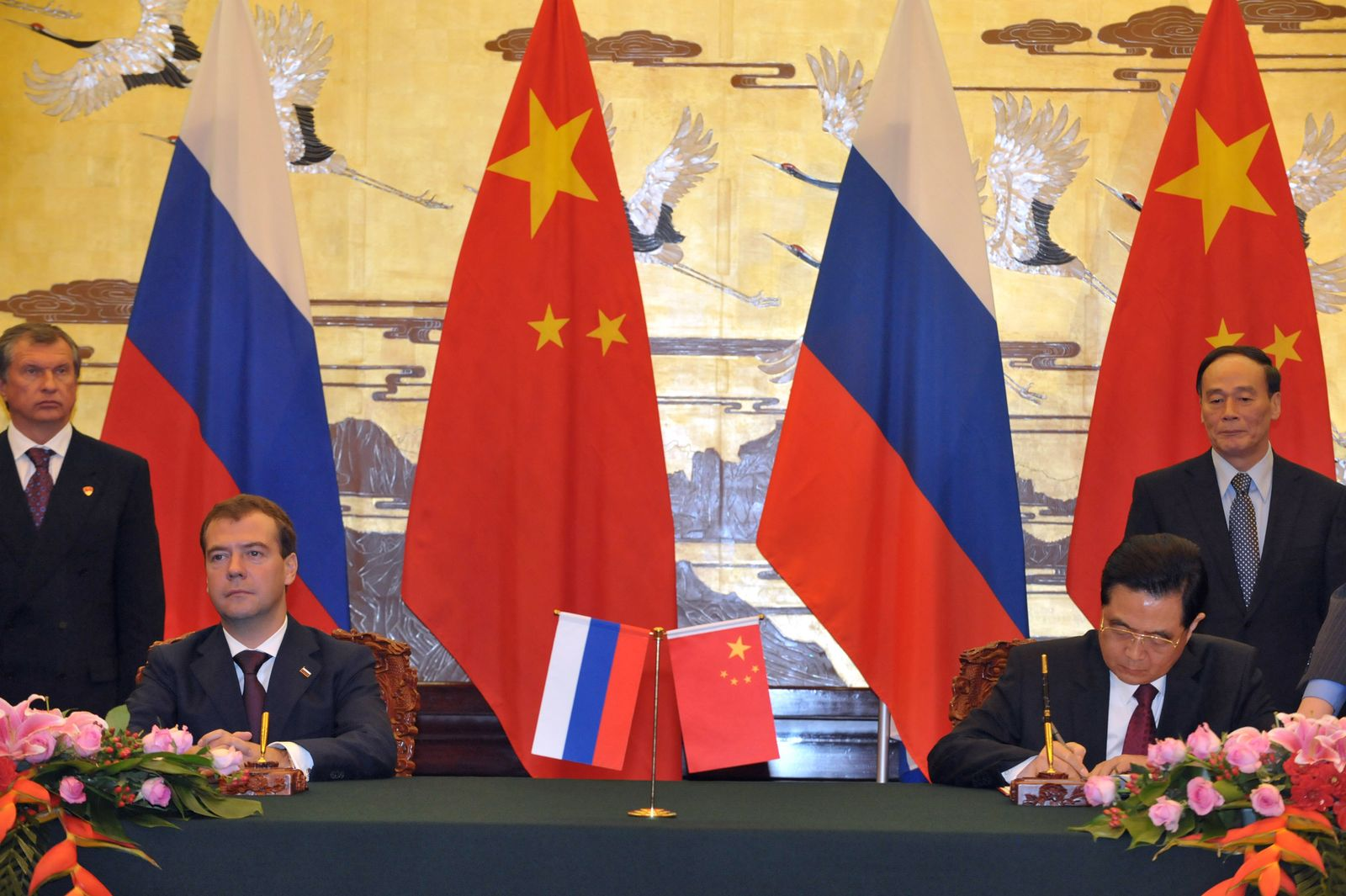 CHINA-RUSSIA SIGNINGCEREMONY
