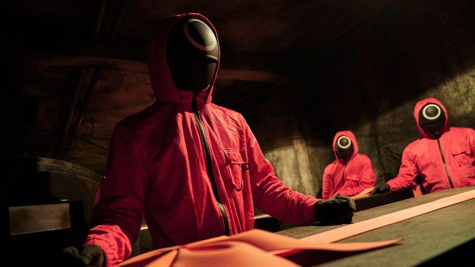 Schon jetzt fester Bestandteil des Pop-Universums: Die Maskierten aus »Squid Game«