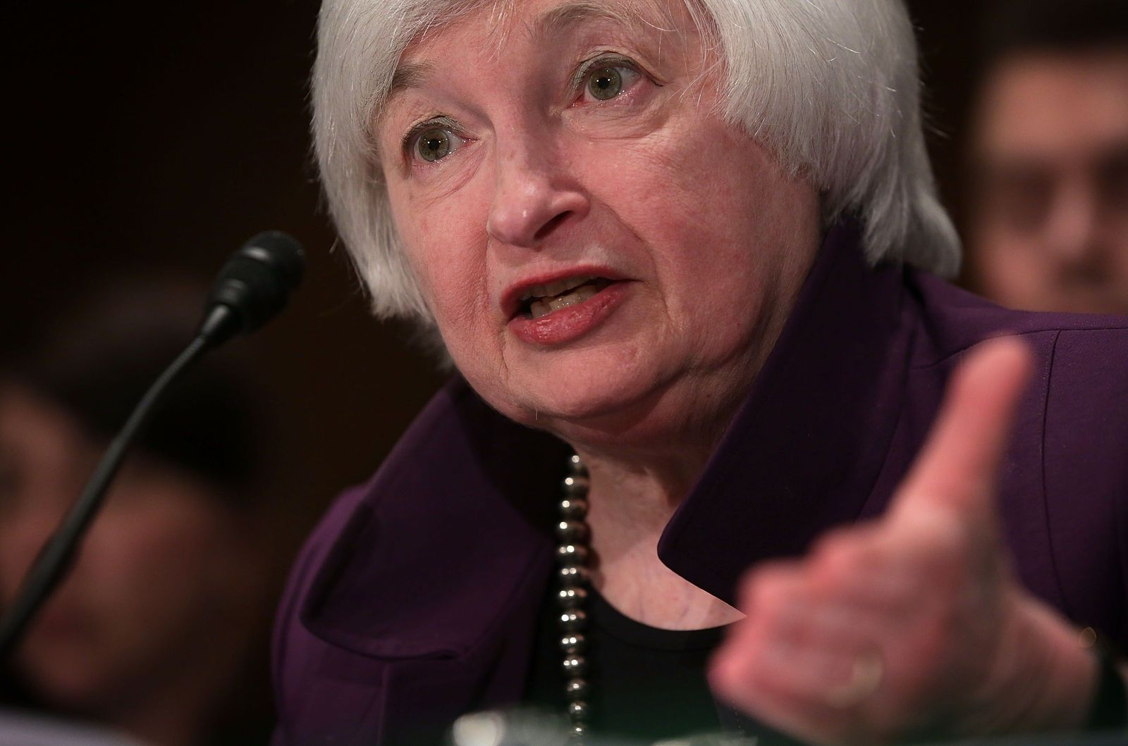 US-JANET-YELLEN-PRESENTS-SEMIANNUAL-MONETARY-POLICY-REPORT-AT-SE