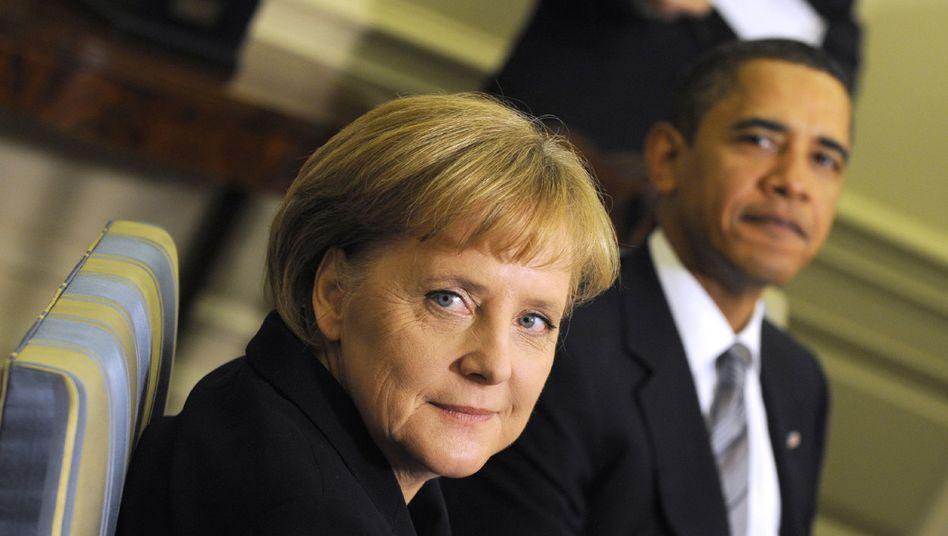 Kanzlerin Merkel, US-Präsident Obama (in Kopenhagen): Mit eigenen Vorstößen abgeblitzt