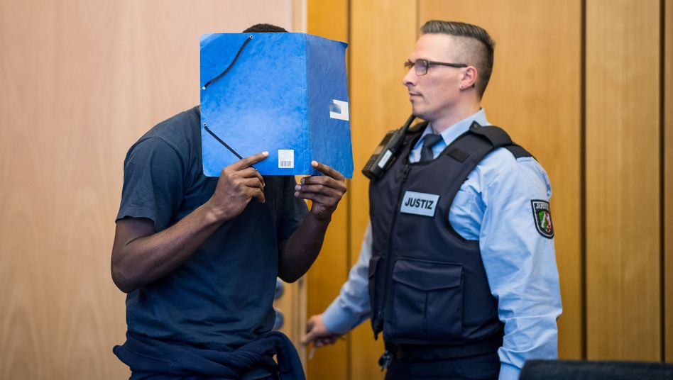 Angeklagter am Landgericht Münster