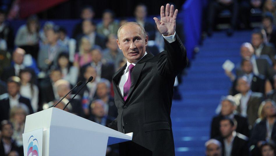 Putins Krönung in Moskau: Der Zar ist tot, lang lebe der Zar