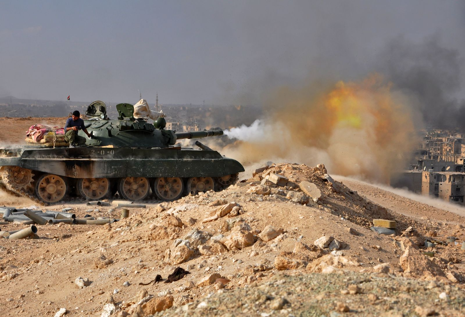Syrien / Gefechte