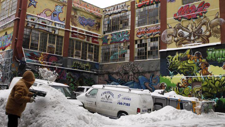 """New York: Legendäres Graffiti-Zentrum """"5Pointz"""""""