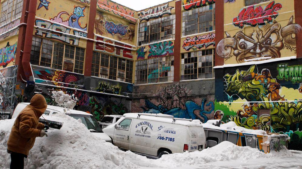 """New York: Berühmtes Graffiti-Zentrum """"5Pointz"""" übermalt"""