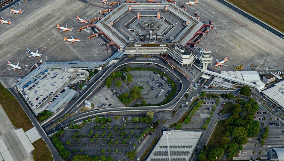 Berliner Flughafen Tegel: Corona macht auch dem Provisorium schwer zu schaffen