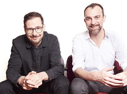 Jochen Schliemann (l.) und Michael Dietz (r.): Mit Plaudern auf Platz eins
