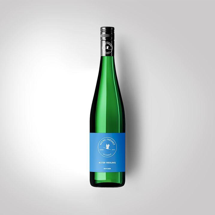 Alles, was ein Riesling braucht, plus Aromen roter Äpfel: Roter Riesling vom Weingut Meine Freiheit, ca. zehn Euro