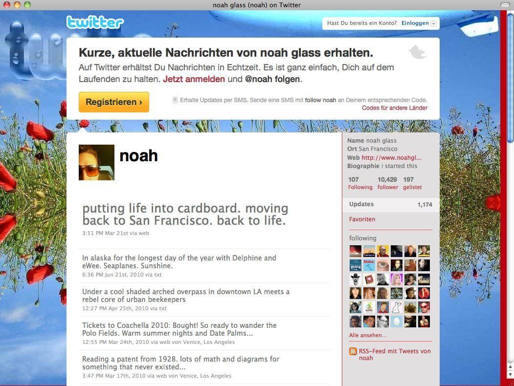 SCREENSHOT Twitter / Noah / Netzwelt