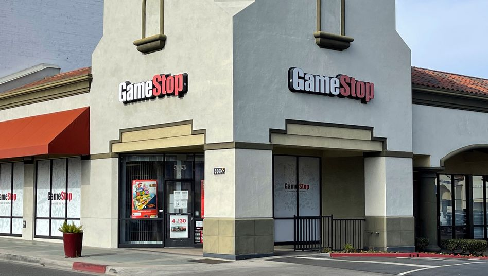 GameStop-Filiale in Kalifornien