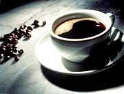 Heißer Kaffee: Normalerweise wächst die Unordnung