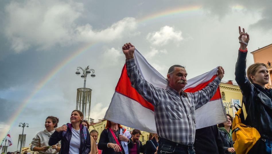 Proteste in Minsk