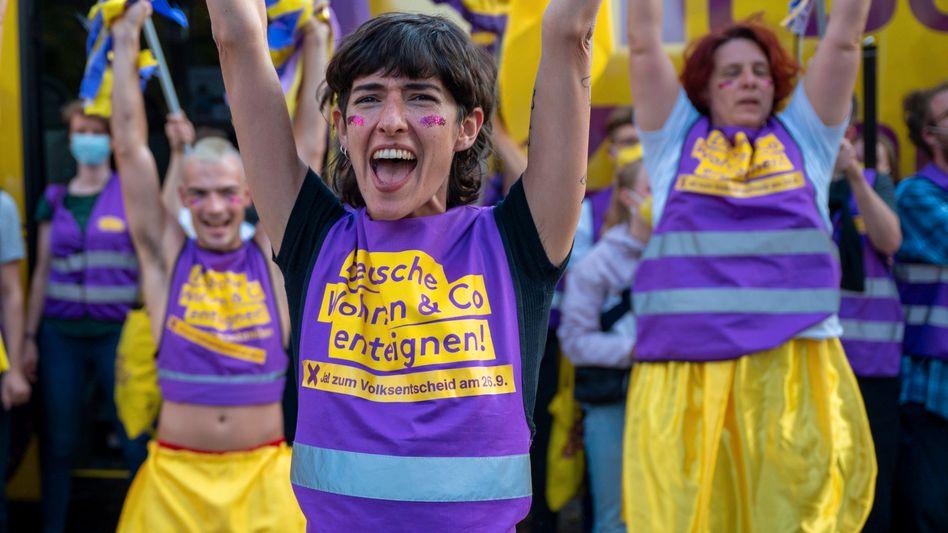 Unterstützer der Initiative ·Deutsche Wohnen und Co. enteignen