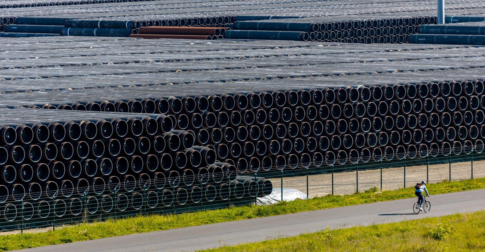 Hafen fuer Nord Stream 2