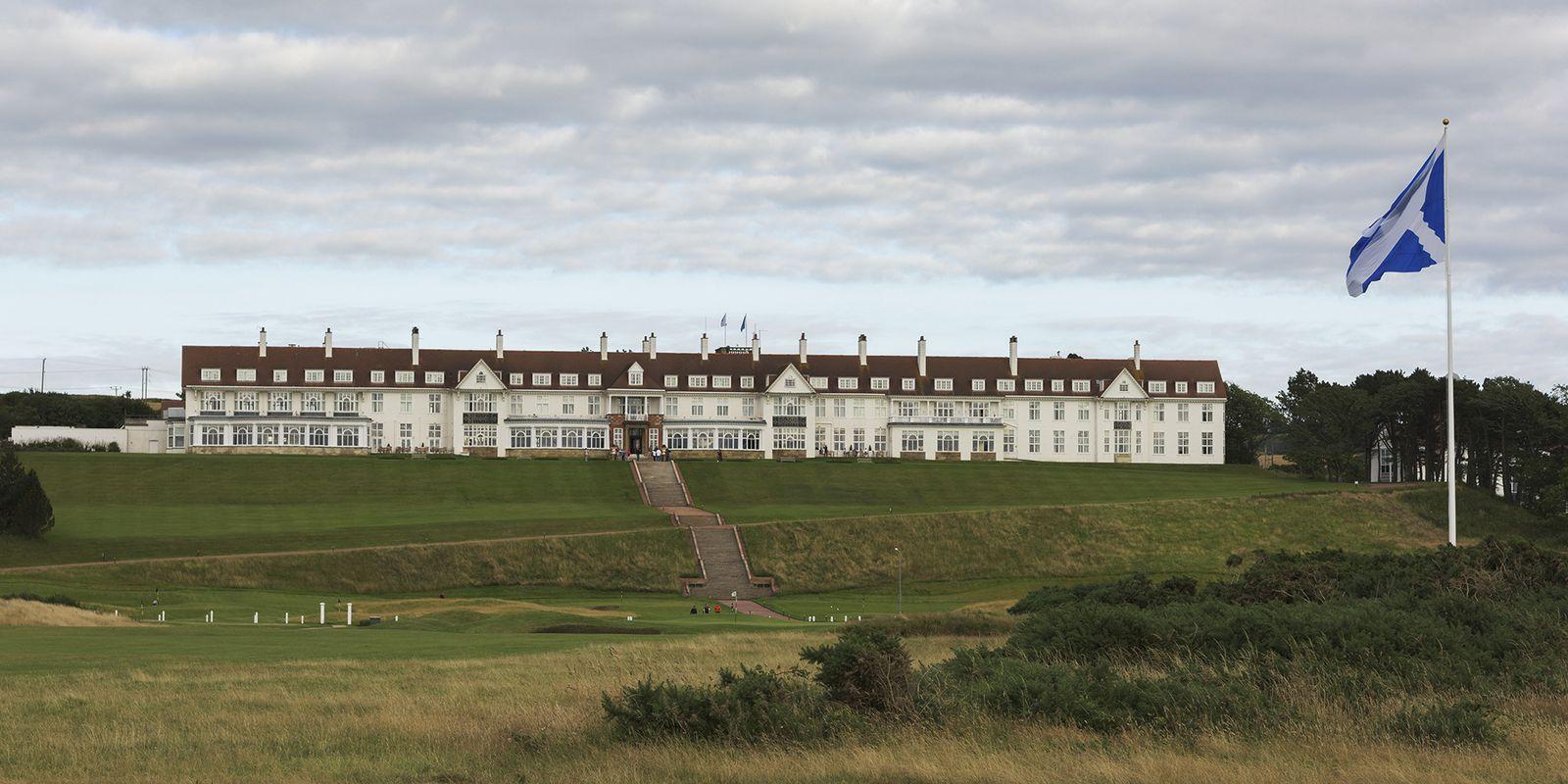 EINMALIGE VERWENDUNG Trump Turnberry Resort/ Schottland
