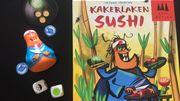 Lecker Kakerlaken-Sushi!
