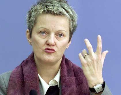 Verbraucherschutzministerin Renate Künast