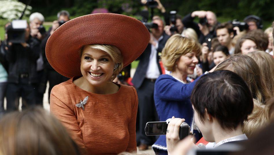 Niederländisches Königspaar in Berlin: Máxima grüßt Máxima