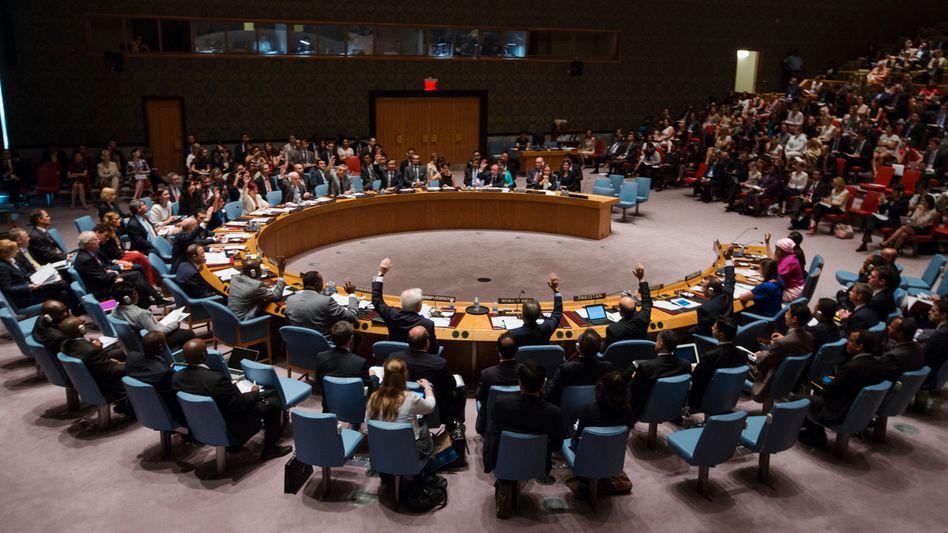Uno-Sicherheitsrat: Fünf ständige und zehn wechselnde Mitglieder