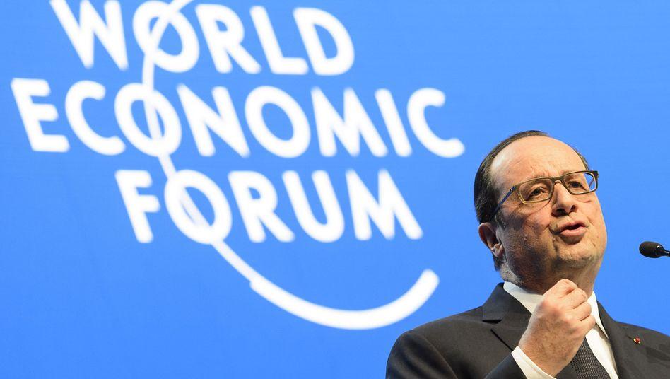 """Im Auftrag der """"Grande Nation"""": Präsident Hollande"""