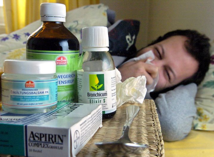 Kranksein als Aufgabe: Der Wehleidige verschanzt sich gern hinter Medikamenten