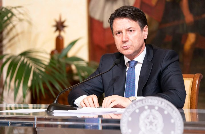 Italian Prime Minister Giuseppe Conte: One bit of bad news after the next
