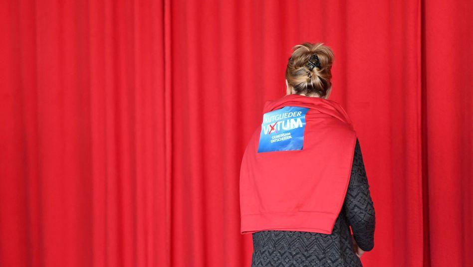 SPD-Mitglied (Archiv)