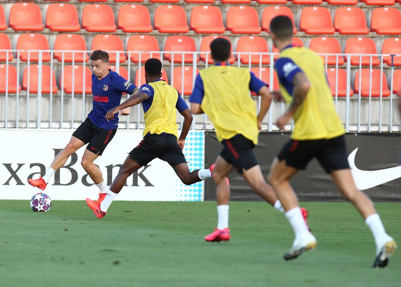 Atletico Madrid training session, Spain - 03 Aug 2020