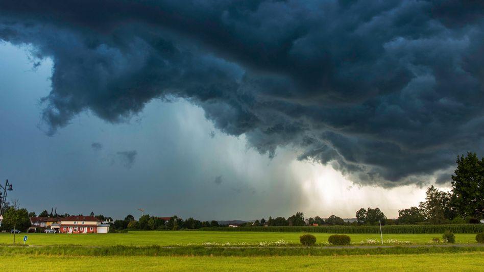 Im Juli kam es auch im Landkreis Miesbach in Bayern zu schweren Unwettern