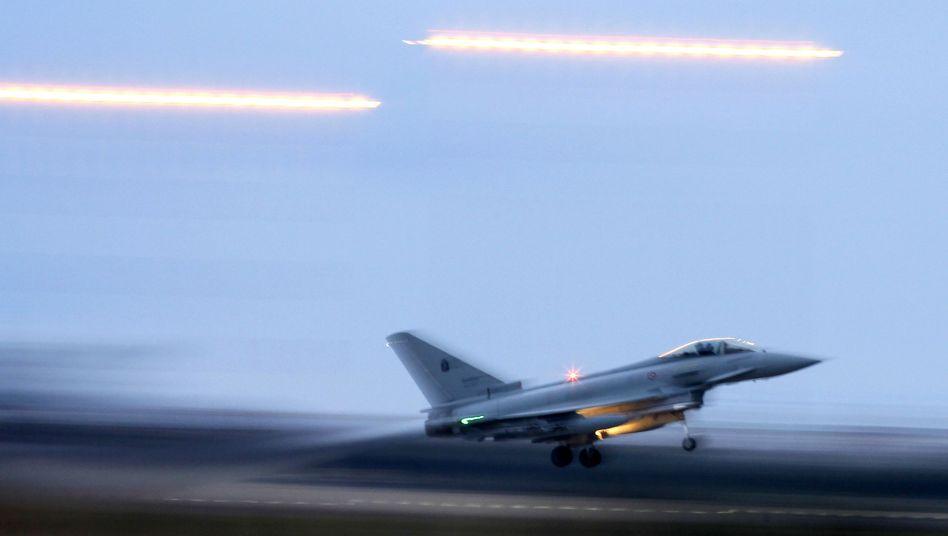 """""""Eurofighter"""" im Libyen-Einsatz: Deutsche Soldaten waren an der Zielauswahl beteiligt"""