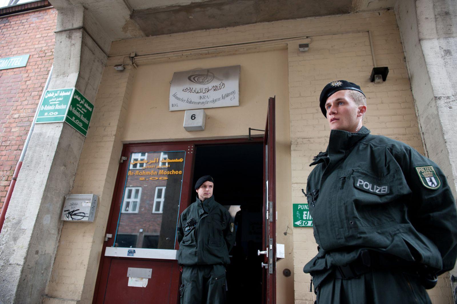 Berliner Polizei / Terrorverdacht XXL
