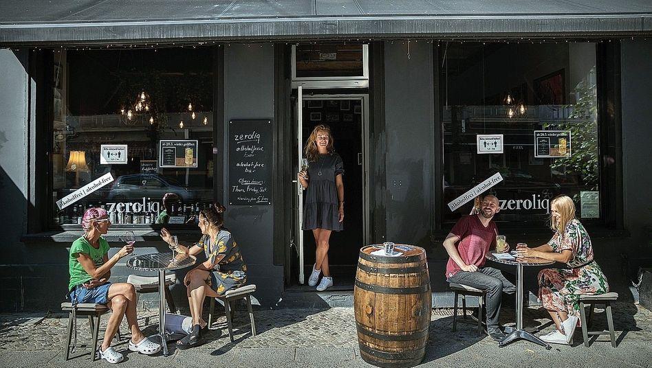 Barbesitzerin Korsun (Mitte) in Berlin:Ein Lebensstil wie vegan