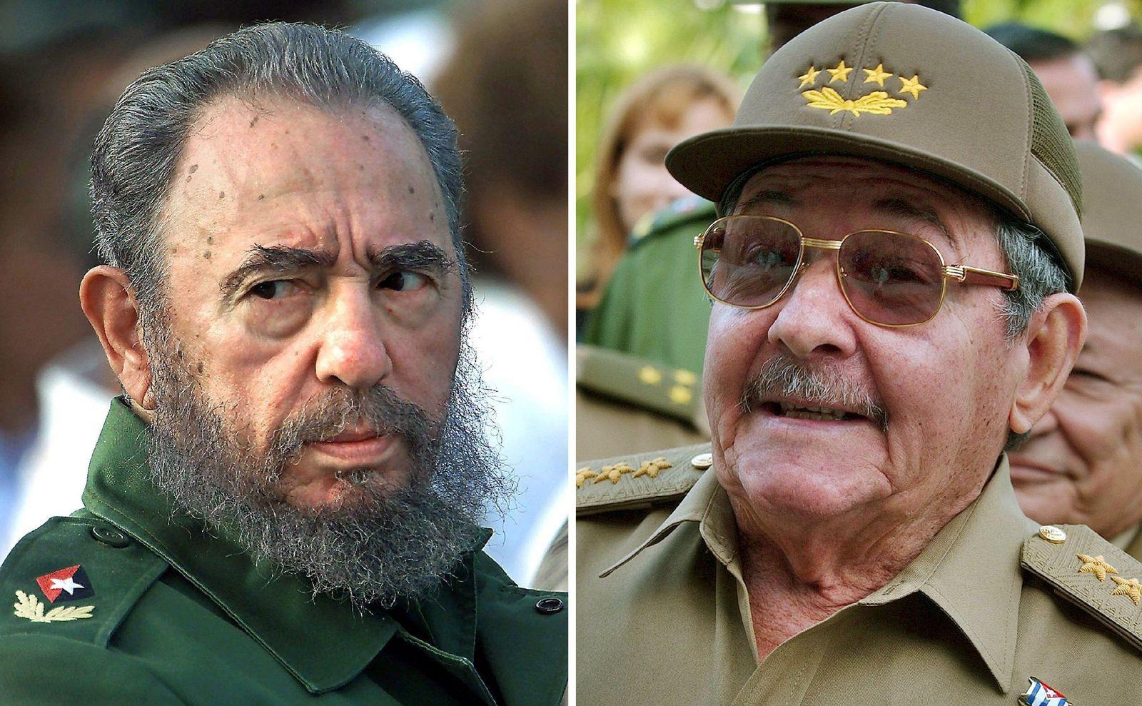 Fidel Castro gibt Amtsgeschäfte vorläufig an Bruder Raul ab