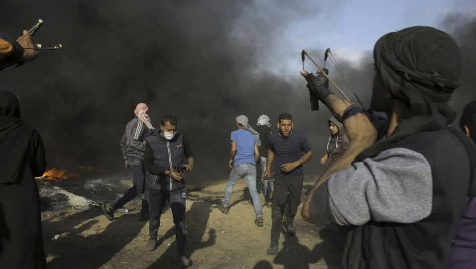 Ausschreitungen im Gazastreifen