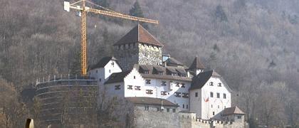 Schloss von Vaduz: Liechtenstein wies Vorwürfe zurück, das Fürstentum lade Vermögende geradezu zur Steuerhinterziehung ein