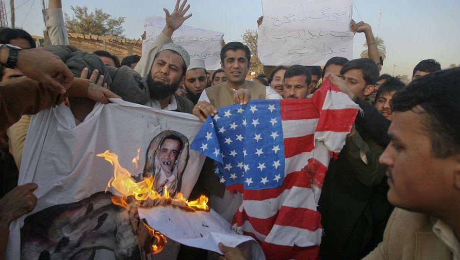 Proteste gegen die USA in Pakistan: US-Politiker erhöhen den Druck auf Islamabad