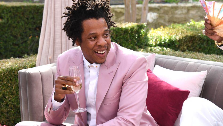 Darauf ein Gläschen: Jay-Z im Januar 2020 in Los Angeles