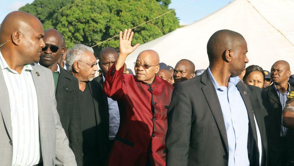 """Südafrikas Präsident Zuma: """"Wir sagen euch nicht, dass ihr gehen sollt"""""""