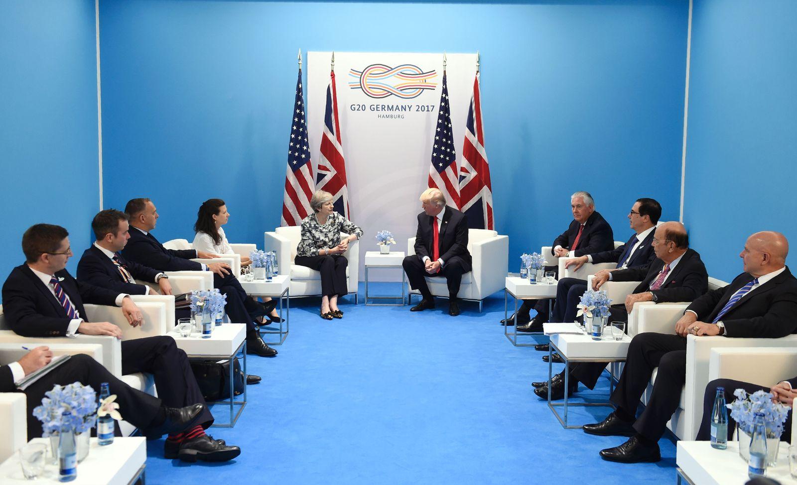 G20/ Hamburg/ 2017/ Trump / May