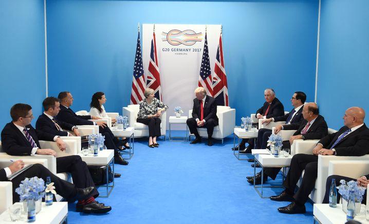 Beratung der G20-Gipfel-Teilnehmer