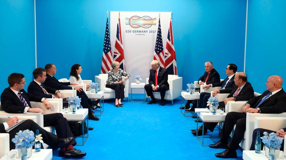 Gipfel in Hamburg: G20 einigen sich im Handelsstreit
