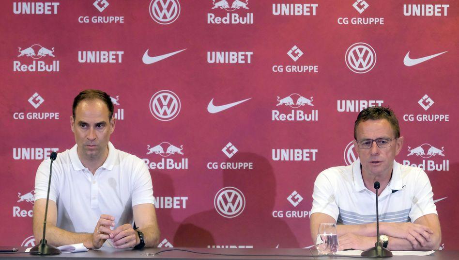 RB-Leipzig-Geschäftsführer will niemanden zwingen, in das Leipziger Stadion zu kommen.